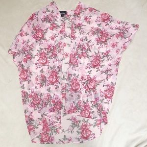 Joe Boxer pink flowery shall